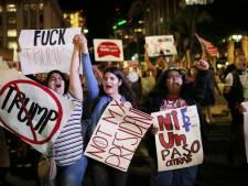 Des manifestations contre Trump partout dans le pays