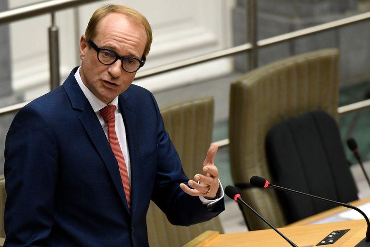 Het Rekenhof en de oppositie zijn bijzonder kritisch voor de vennootschap die door Vlaams minister van Mobiliteit Ben Weyts (N-VA) werd opgericht. Beeld Photo News