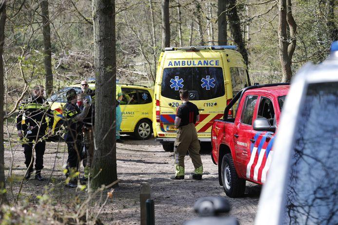 Mountainbiker raakt gewond op Bergse Heide