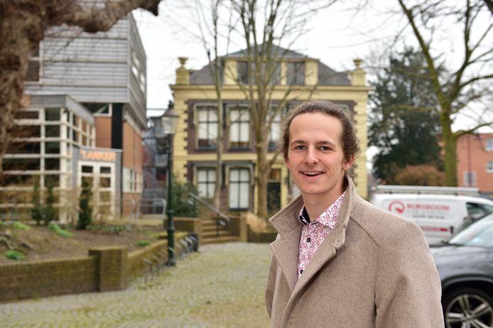 Valentijn Zoomers is een van de twee VVD'ers die nu ook hun taken neerlegden.