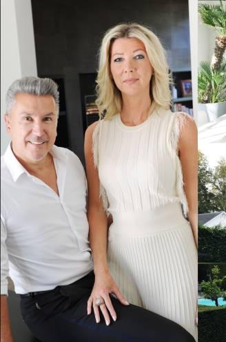 """""""Tijdens de zomer gaan we zelden op reis, want in onze tuin voelen we ons op vakantie"""": Peter en Myriam zwaaien de deuren open van hun unieke villa vol kunstwerken"""