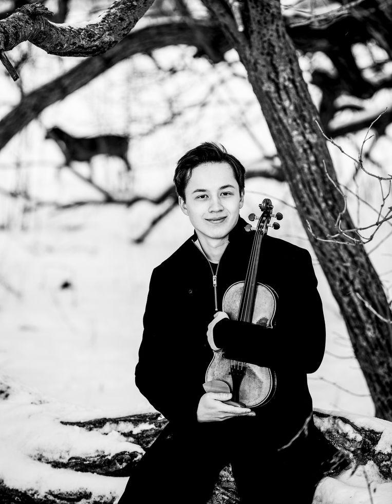 De Zweedse violist Johan Dalene. Beeld Mats Bäcker