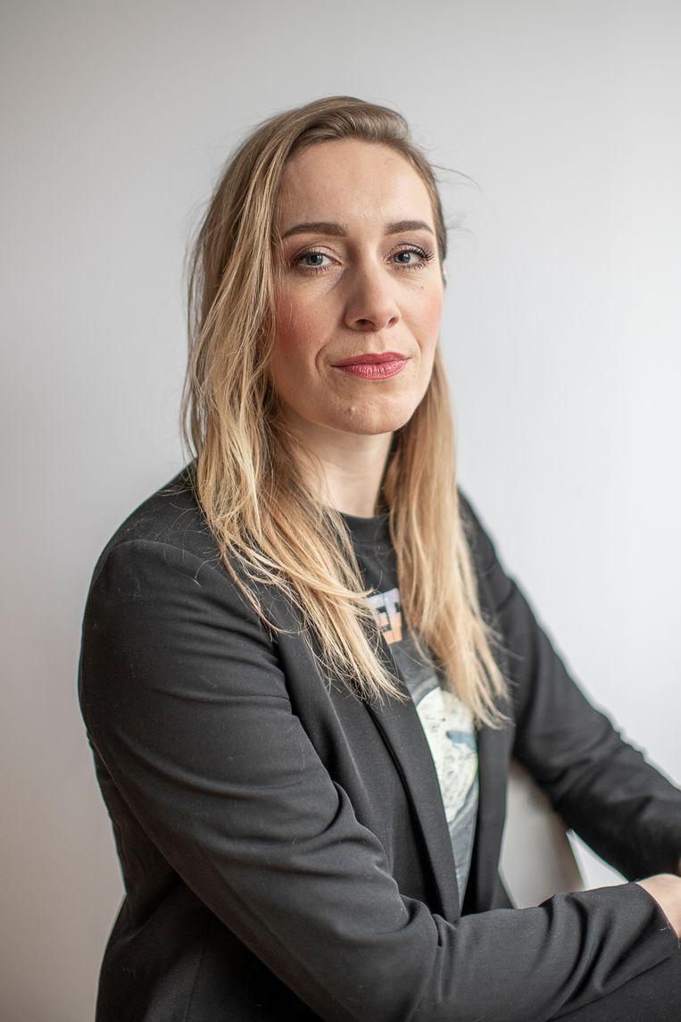Heleen Lameijer, Spoedeisende-Hulparts MC Leeuwarden. Beeld Harry Cock
