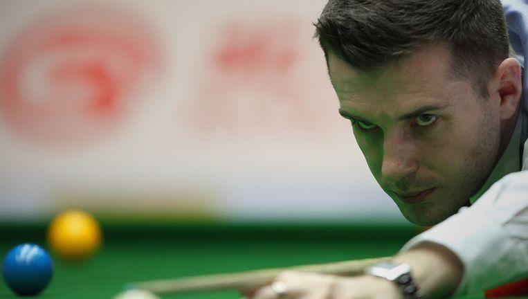 Mark Selby zette Jimmy Robertson met 10-1 aan de kant. Beeld UNKNOWN