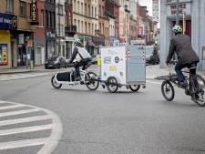 Les Cuisines bruxelloises testent la livraison des repas par vélos-cargos