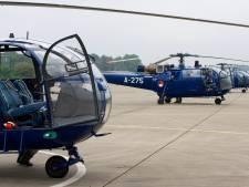 Rotorblad helikopter van Soest naar museum in Barneveld