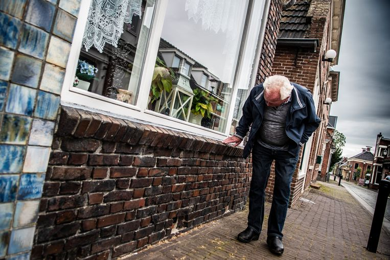 Op 14 juli 2020 rond half zes werd Groningen opgeschrikt door een aardbeving van 2.7 op de Schaal van Richter. Het epicentrum lag onder Loppersum. Het is de zwaarste beving van 2020, als gevolg van aardgaswinning door de NAM.  Beeld Hollandse Hoogte / Anjo de Haan