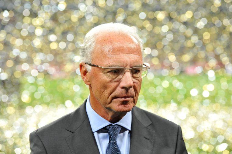 Franz Beckenbauer Beeld EPA