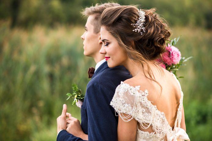 illustratie trouwen stockadr stock huwelijk bruiloft
