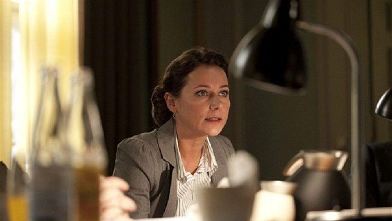 Een scene uit de Deense politieke dramaserie Borgen. Beeld