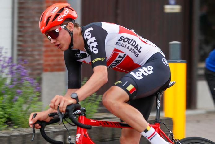Aaron Van der Beken werkt zaterdag Luik-Bastenaken-Luik voor beloften af, voor hem een klassieker op gekend terrein.