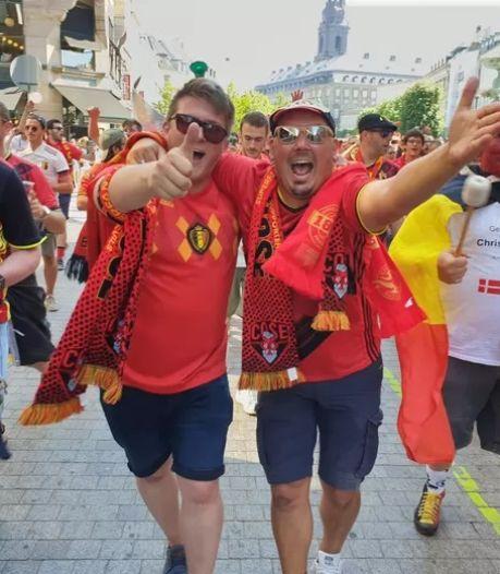 Copenhague n'oubliera pas de sitôt l'enthousiasme des Belges
