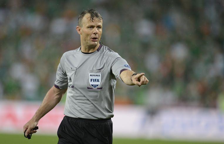 Björn Kuipers. Beeld AFP