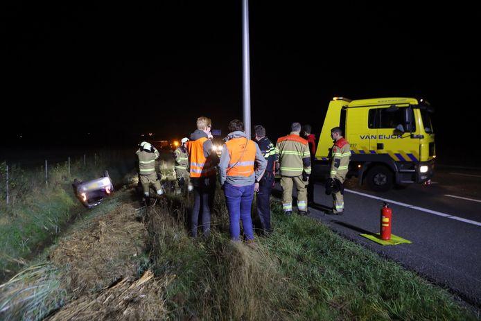 Ongeval A50 ter hoogte van Schaijk.
