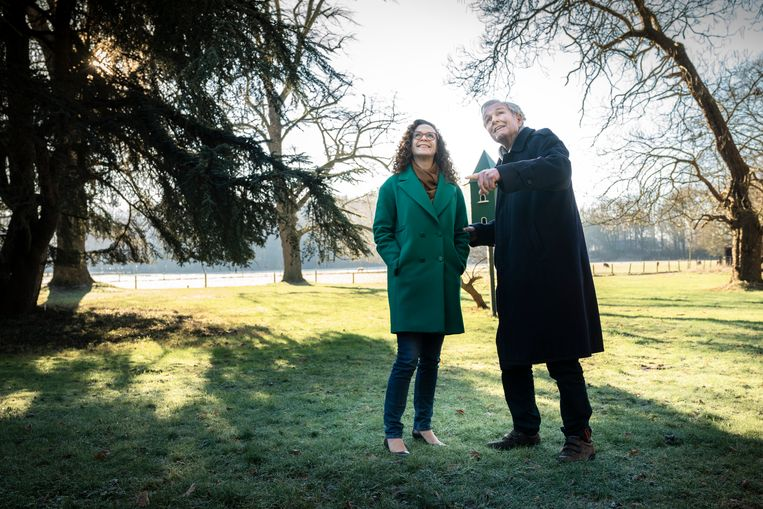 Sophie in 't Veld en Jan Terlouw. Beeld Reyer Boxem