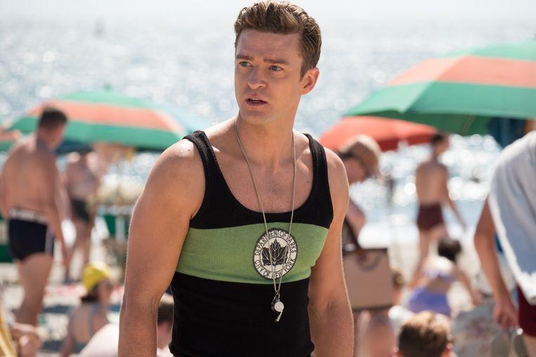Justin Timberlake in 'Wonder Wheel', de nieuwste worp van Woody Allen. Beeld rv