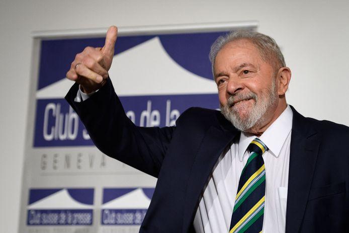 Luiz Inácio Lula da Silva kan het bij de volgende verkiezingen in 2022 opnemen tegen huidig president Jair Bolsonaro.