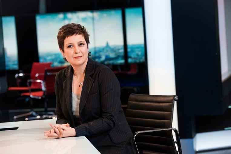 Kathleen Cools. Beeld VRT - Joost Joossen