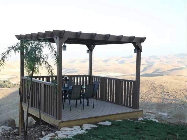 Airbnb besloot alle adressen in nederzettingen op de Westelijke Jordaanoever te verwijderen.   Beeld