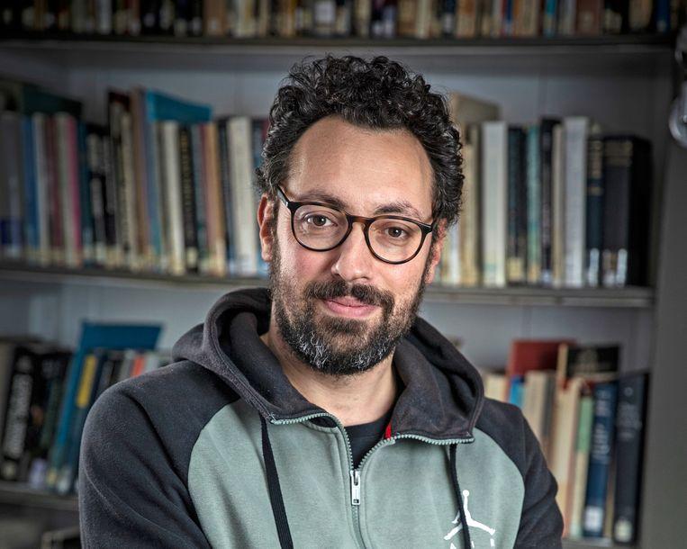 Karwan Fatah-Black, historicus, sprak op 30 juni de Keti Koti-lezing uit in Pakhuis de Zwijger.  Dit is de ingekorte, bewerkte lezing. Beeld Babet Hogervorst