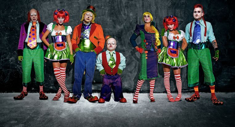'Crimi Clowns', het geesteskind van Luk Wyns, krijgt binnenkort een Amerikaanse make-over. Beeld Crimi Clowns