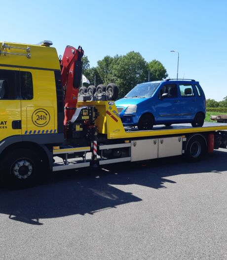 Politie neemt voor zesde keer auto in beslag voor rijden zonder rijbewijs