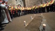 """Fiertelbellen weerklinken voor het eerst in catacombe van Sint-Hermes in Rome: """"Sprakeloos en tot tranen toe bewogen"""""""