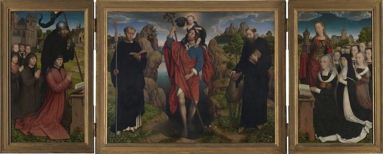 Hans Memling: Het Moreeltriptiek, 1484. Beeld null