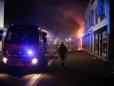 Brand in centrum Roosendaal, een persoon naar ziekenhuis