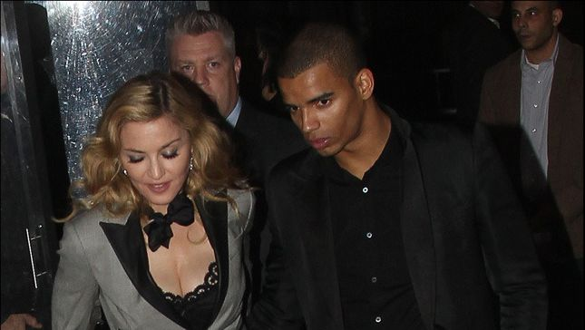 Madonna et Brahim Zaibat en janvier dernier à New-York.