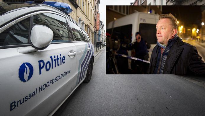 Brussel Hoofdstad Elsene, één van de zes politiezones. Inzet: burgemeester Marc-Jean Ghyssels (PS).