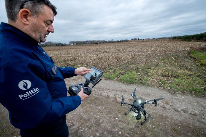 Het droneteam van Politiezone Klein-Brabant