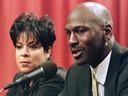 Michael Jordan et Juanita.