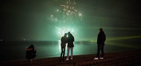 Lichtspektakel met muziek vervangt vuurwerkshow oud en nieuw