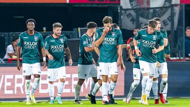 NEC mist Proper tegen Fortuna Sittard, Ruiz voor het eerst in wedstrijdselectie