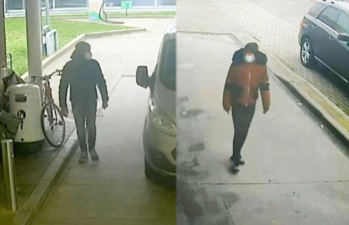 De twee verdachten.
