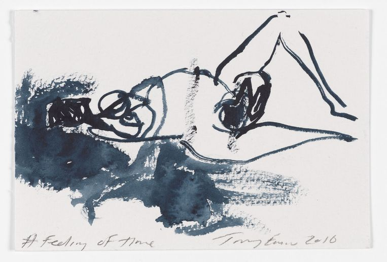 Tracy Emin, 'A Feeling of Time' (2016) Beeld Prudence Cummings Associates, courtesy the Artist and Xavier Hufkens, Brussels