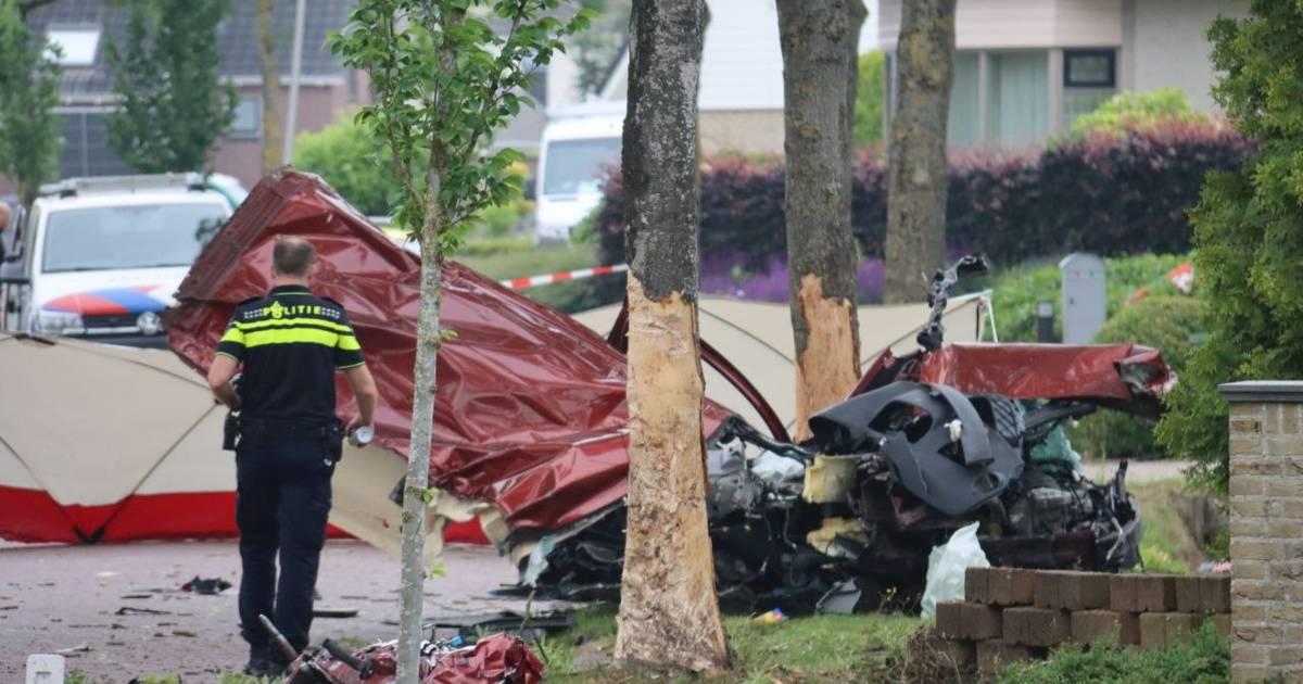 Veroorzaker dodelijk ongeval Sint Jansklooster verongelukt zelf kilometer verderop.