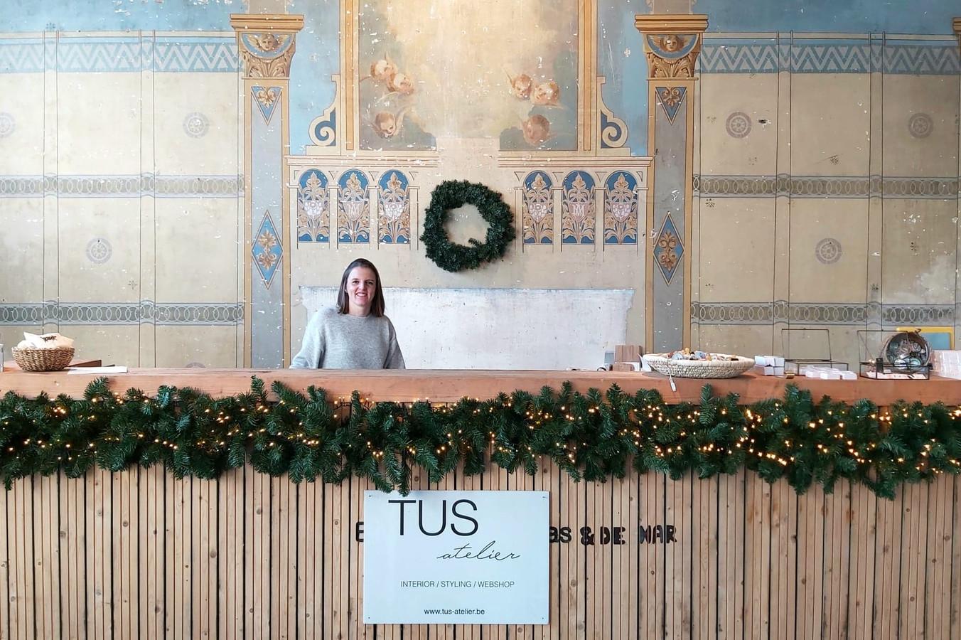 De pop-upwinkel van TUS atelier van Gaëlle Vervaeke vind je dit jaar in een gerenoveerde kapel.