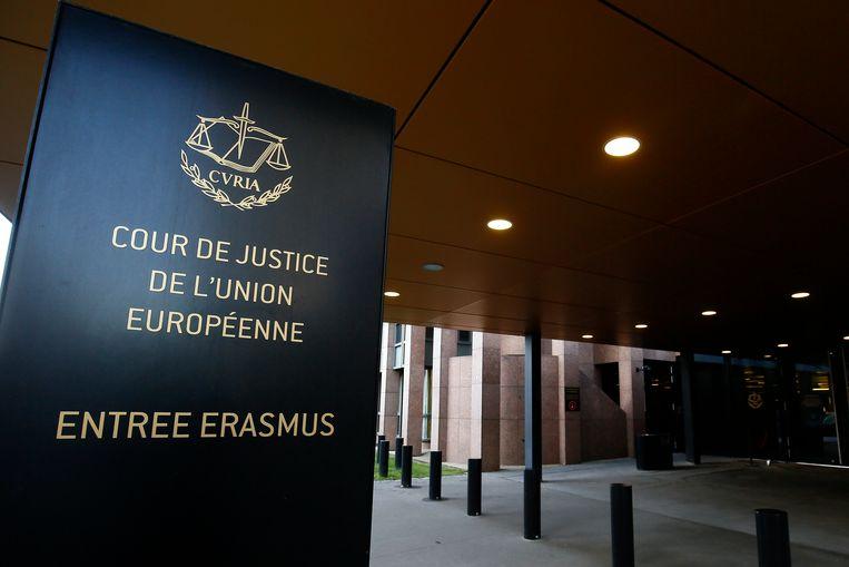 Het Europees Hof van Justitie in Luxemburg.  Beeld EPA