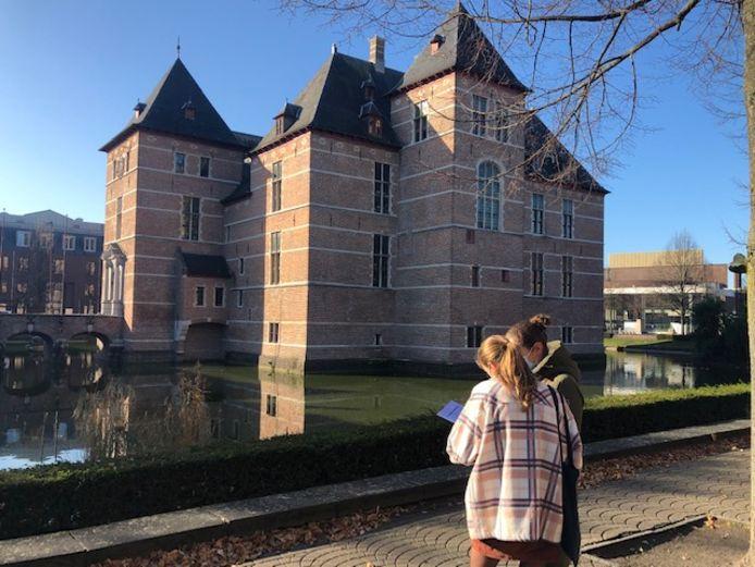 De wandeling komt langs de mooiste plaatsen in Turnhout