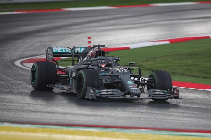 Lewis Hamilton sleepte zijn zevende wereldtitel in de wacht.