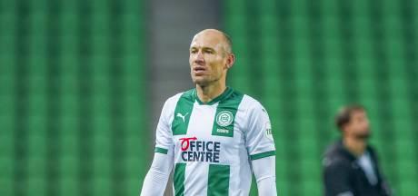 Robben komt dit kalenderjaar niet meer in actie bij FC Groningen