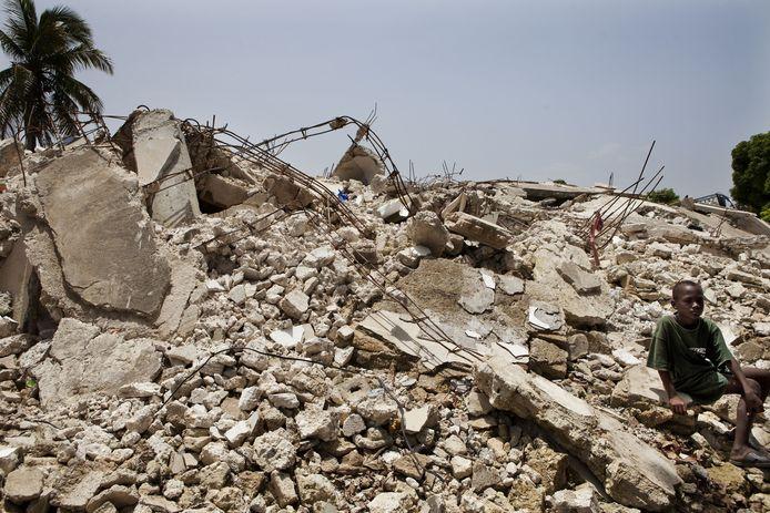 De aardbeving in Haïti was vernietigend.