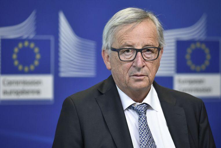 Europees Commissievoorzitter Jean-Claude Juncker. Beeld AFP