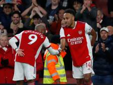 Arsenal zes wedstrijden ongeslagen na winst op het Aston Villa van invaller El Ghazi