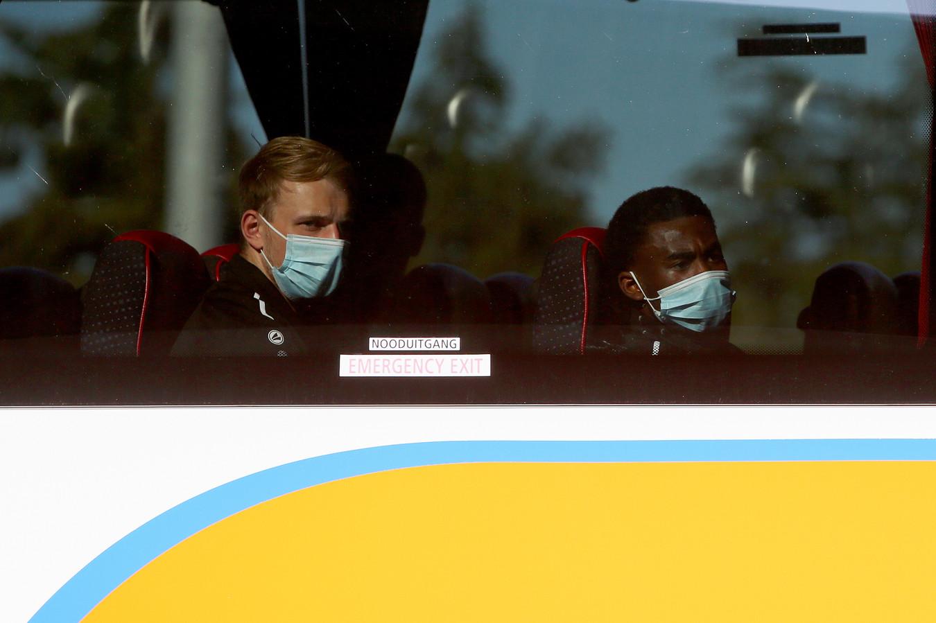 De spelers van UNA keerden onverrichter zake weer terug naar Veldhoven.