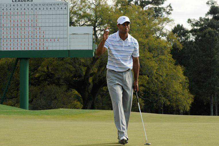 Tiger Woods (AFP) Beeld