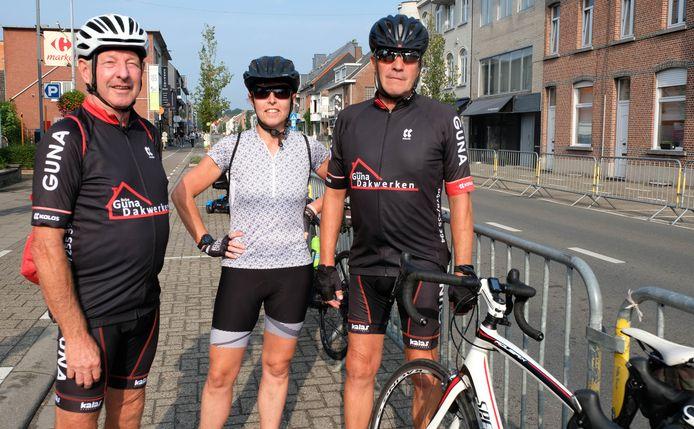 Ferdinand, Katja en Jan kwamen vanuit Asse naar Bonheiden