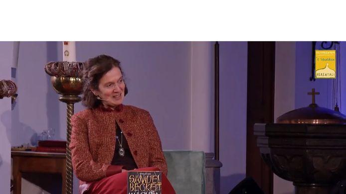 Anja Geuns zag haar kans gekomen om acteur als Peter voor de Herentalse bib te vragen